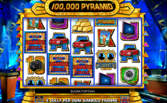 giochi slot machine da bar 100.000 pyramid