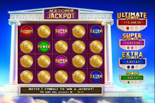 Age Of The Gods Goddess Of Wisdom Slot Machine Jackpot Progressivo