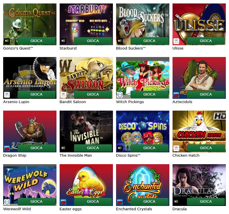 Mr Green Casino Slots