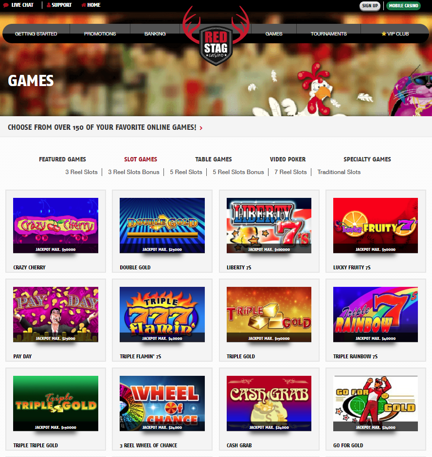 Red Stag Casino Giochi Slot