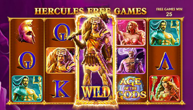 Slot Machine Age of the Gods: Hercules Free Games
