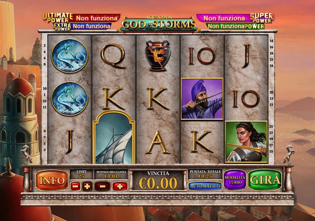 God Of Storms Slot Machine