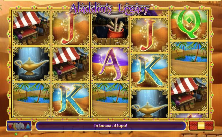 Aladdins Legacy Slot Machine
