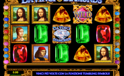 macchine slot da vinci diamonds gratis
