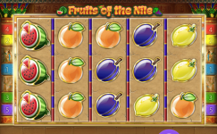 giochi di frutta fruits of the nile online