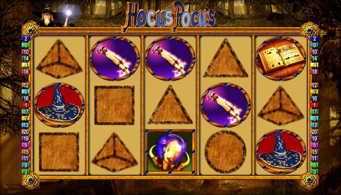 Hocus Pocus Slot Machine