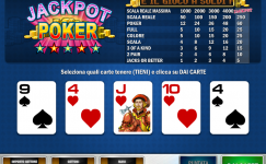 slot gratis jackpot poker