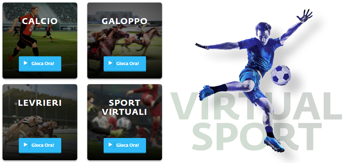 Scommesse su EnjoyBet Virtual Betting