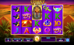 sphinx slot machine gratis online