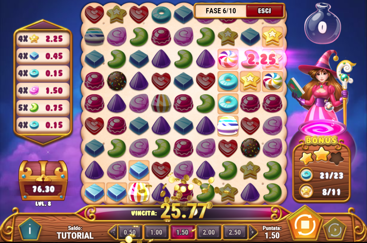 Sweet Alchemy Slot Machine