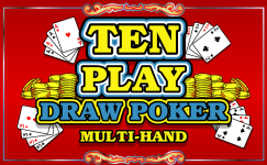 ten play draw poker