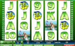 tennis stars online slot machine 5 rulli