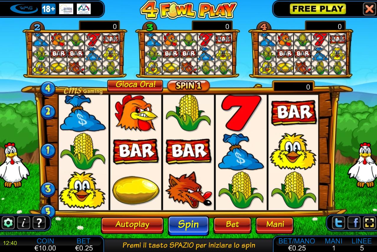 Slot Gratis Fowl Play Gold